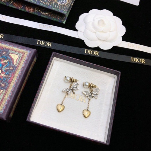 Christian Dior Earrings #856717 $32.00, Wholesale Replica Christian Dior Earrings