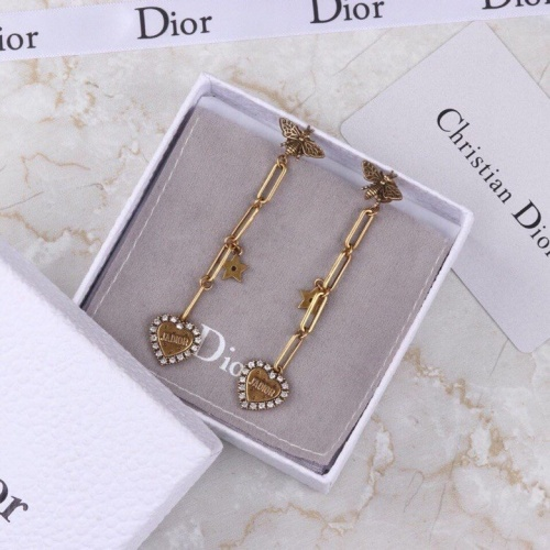 Christian Dior Earrings #856720 $34.00, Wholesale Replica Christian Dior Earrings