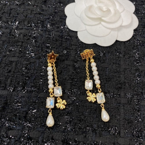 Christian Dior Earrings #856725 $38.00, Wholesale Replica Christian Dior Earrings