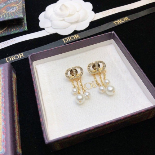 Christian Dior Earrings #856742 $32.00, Wholesale Replica Christian Dior Earrings