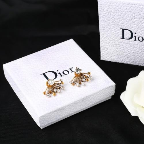 Christian Dior Earrings #856796 $27.00, Wholesale Replica Christian Dior Earrings