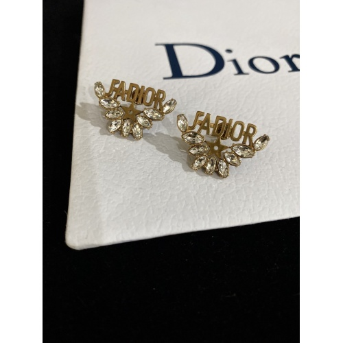 Christian Dior Earrings #856798 $27.00, Wholesale Replica Christian Dior Earrings