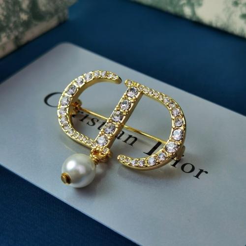 Christian Dior Brooches #856817 $29.00, Wholesale Replica Christian Dior Brooches