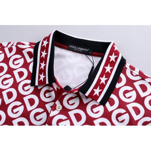 Replica Dolce & Gabbana D&G T-Shirts Short Sleeved For Men #856843 $39.00 USD for Wholesale