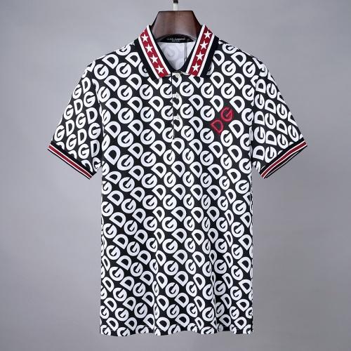 Dolce & Gabbana D&G T-Shirts Short Sleeved For Men #856845 $39.00, Wholesale Replica Dolce & Gabbana D&G T-Shirts