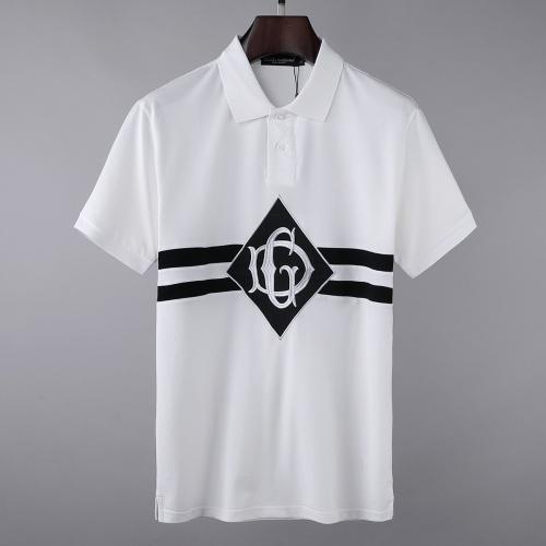 Dolce & Gabbana D&G T-Shirts Short Sleeved For Men #856846 $39.00, Wholesale Replica Dolce & Gabbana D&G T-Shirts
