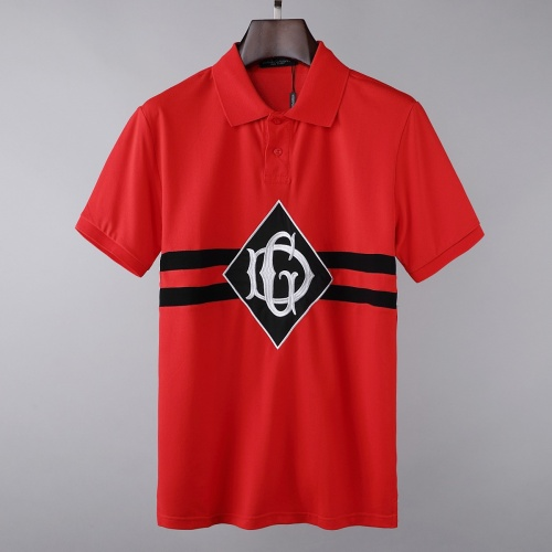 Dolce & Gabbana D&G T-Shirts Short Sleeved For Men #856847 $39.00, Wholesale Replica Dolce & Gabbana D&G T-Shirts
