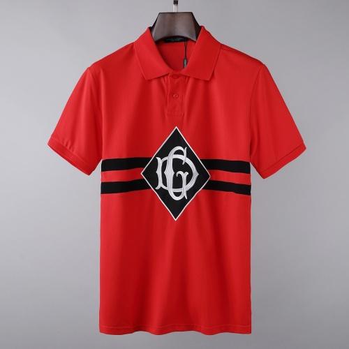 Dolce & Gabbana D&G T-Shirts Short Sleeved For Men #856847