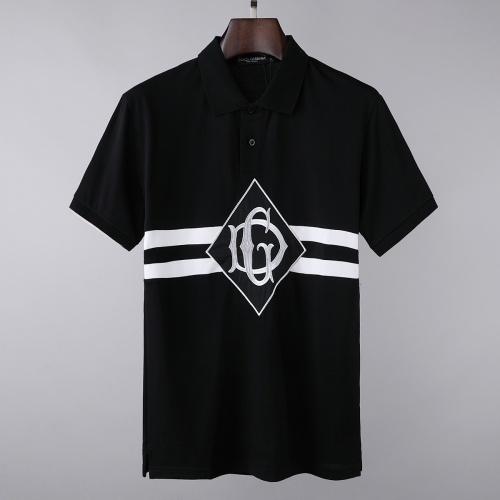 Dolce & Gabbana D&G T-Shirts Short Sleeved For Men #856848 $39.00, Wholesale Replica Dolce & Gabbana D&G T-Shirts