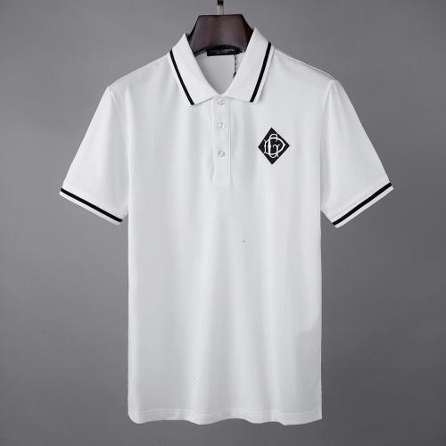 Dolce & Gabbana D&G T-Shirts Short Sleeved For Men #856850 $39.00, Wholesale Replica Dolce & Gabbana D&G T-Shirts