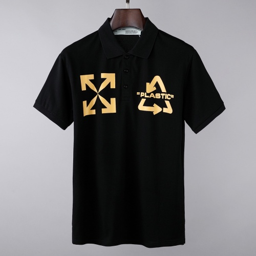 Off-White T-Shirts Short Sleeved For Men #856856 $39.00 USD, Wholesale Replica Off-White T-Shirts