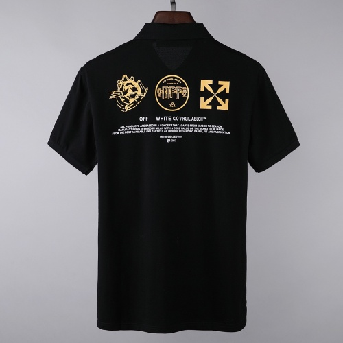 Replica Off-White T-Shirts Short Sleeved For Men #856856 $39.00 USD for Wholesale