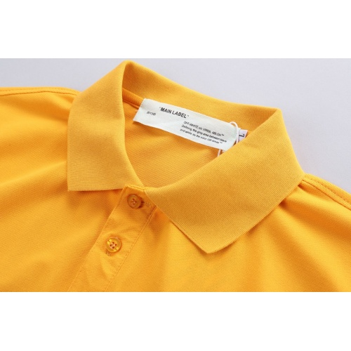 Replica Off-White T-Shirts Short Sleeved For Men #856858 $39.00 USD for Wholesale
