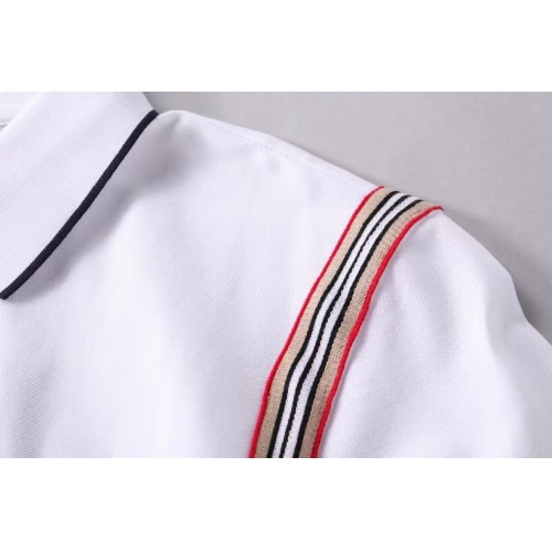 Replica Burberry T-Shirts Short Sleeved For Men #856870 $39.00 USD for Wholesale