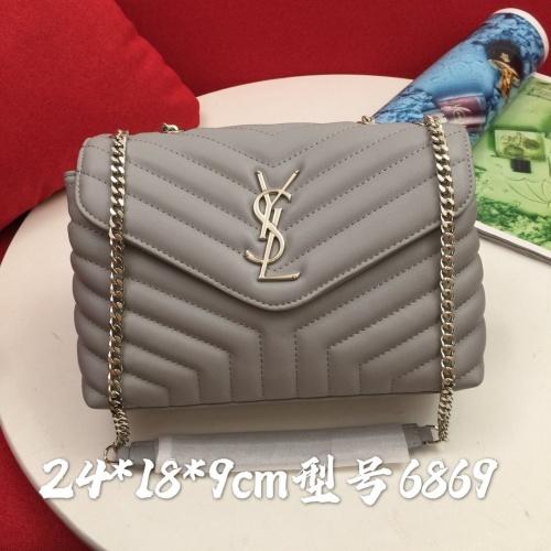 Yves Saint Laurent YSL AAA Messenger Bags #856879 $88.00 USD, Wholesale Replica Yves Saint Laurent YSL AAA Messenger Bags