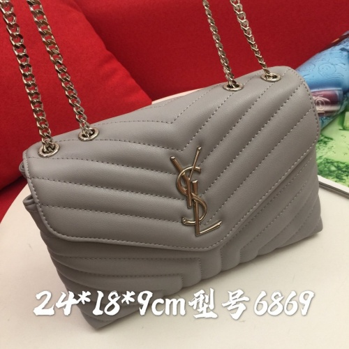 Replica Yves Saint Laurent YSL AAA Messenger Bags #856879 $88.00 USD for Wholesale