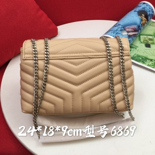 Replica Yves Saint Laurent YSL AAA Messenger Bags #856881 $88.00 USD for Wholesale