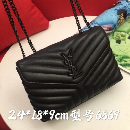 Replica Yves Saint Laurent YSL AAA Messenger Bags #856883 $88.00 USD for Wholesale
