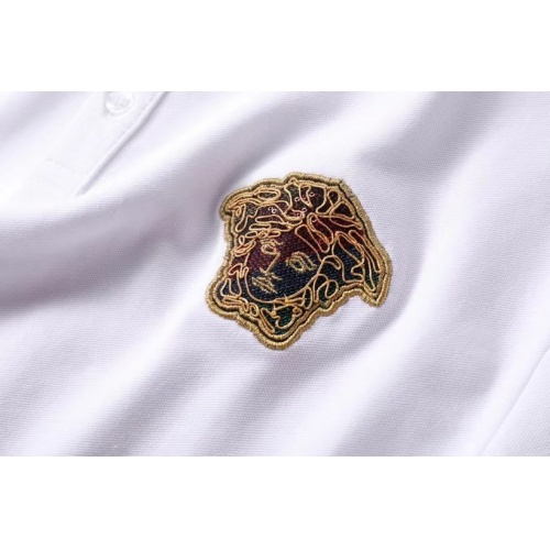 Replica Versace T-Shirts Short Sleeved For Men #856888 $39.00 USD for Wholesale