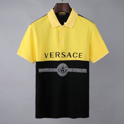 Versace T-Shirts Short Sleeved For Men #856890