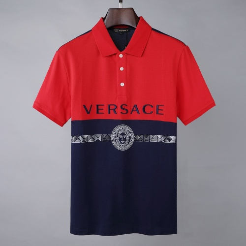 Versace T-Shirts Short Sleeved For Men #856891 $39.00, Wholesale Replica Versace T-Shirts