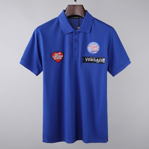 Versace T-Shirts Short Sleeved For Men #856893
