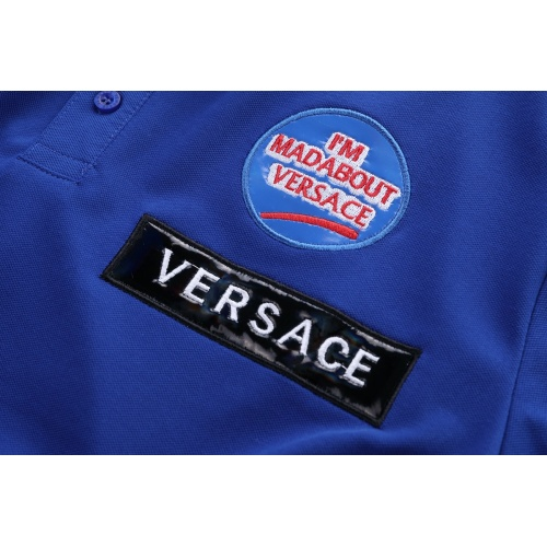 Replica Versace T-Shirts Short Sleeved For Men #856893 $39.00 USD for Wholesale