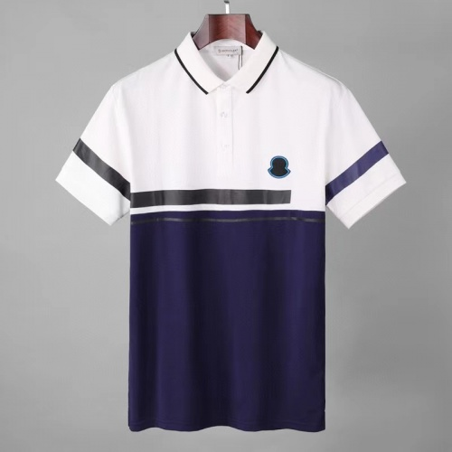 Moncler T-Shirts Short Sleeved For Men #856974 $39.00 USD, Wholesale Replica Moncler T-Shirts