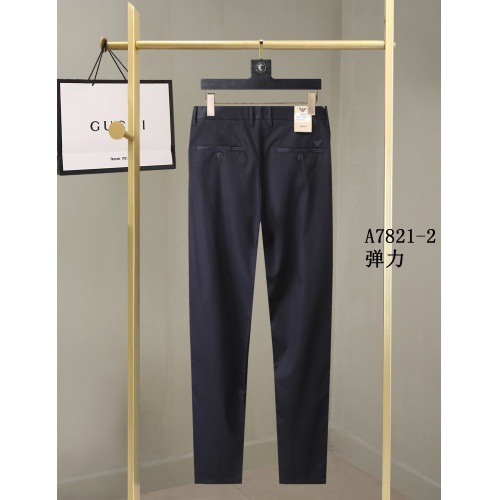 Replica Armani Pants For Men #857000 $40.00 USD for Wholesale