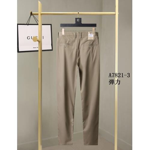 Replica Armani Pants For Men #857001 $40.00 USD for Wholesale