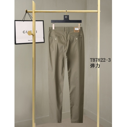 Replica Burberry Pants For Men #857004 $40.00 USD for Wholesale