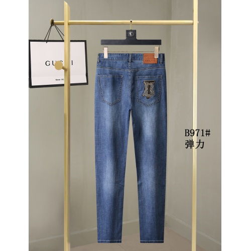 Replica Burberry Jeans For Men #857005 $40.00 USD for Wholesale