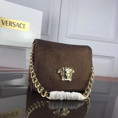 Versace AAA Quality Messenger Bags #857011 $125.00 USD, Wholesale Replica Versace AAA Quality Messenger Bags