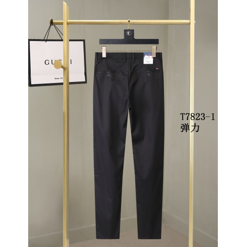 Replica Tommy Hilfiger TH Pants For Men #857013 $40.00 USD for Wholesale