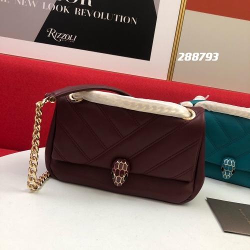 Bvlgari AAA Messenger Bags For Women #857040