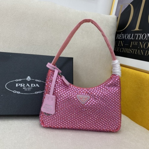 Prada AAA Quality Messeger Bags For Women #857052