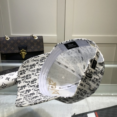 Replica Christian Dior Caps #857080 $27.00 USD for Wholesale