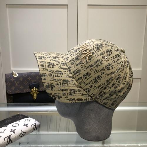 Replica Christian Dior Caps #857081 $27.00 USD for Wholesale