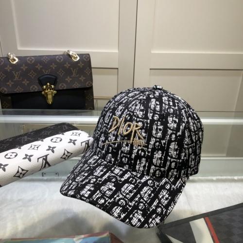 Christian Dior Caps #857082 $27.00 USD, Wholesale Replica Christian Dior Caps