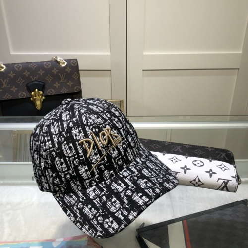 Replica Christian Dior Caps #857082 $27.00 USD for Wholesale
