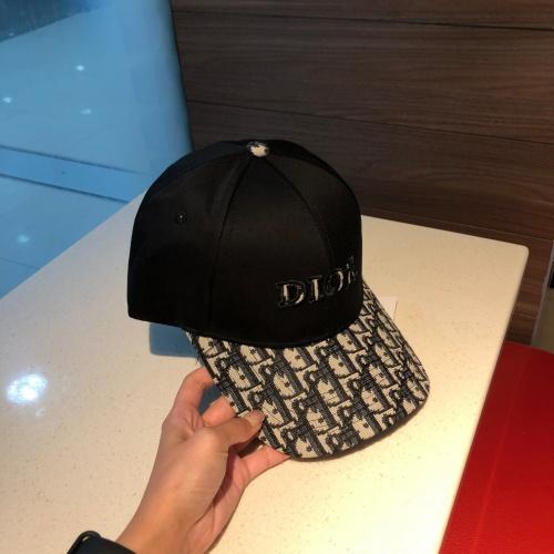 Replica Christian Dior Caps #857119 $32.00 USD for Wholesale