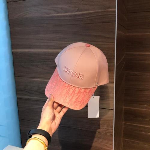 Replica Christian Dior Caps #857121 $32.00 USD for Wholesale