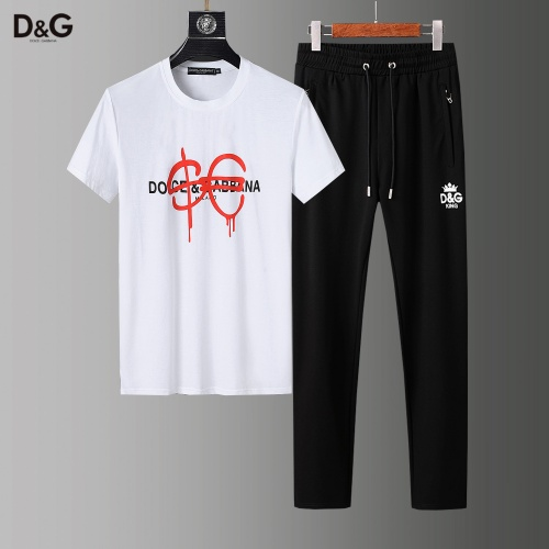 Dolce & Gabbana D&G Tracksuits Short Sleeved For Men #857282