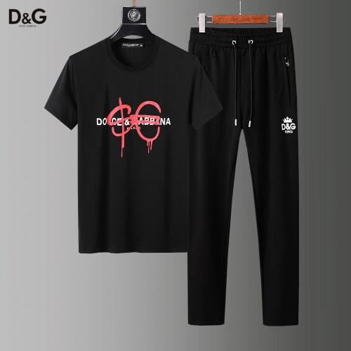Dolce & Gabbana D&G Tracksuits Short Sleeved For Men #857283