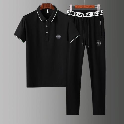 Philipp Plein PP Tracksuits Short Sleeved For Men #857296