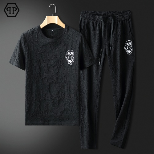 Philipp Plein PP Tracksuits Short Sleeved For Men #857302