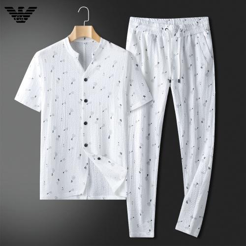 Armani Tracksuits Short Sleeved For Men #857311