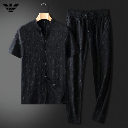 Armani Tracksuits Short Sleeved For Men #857312