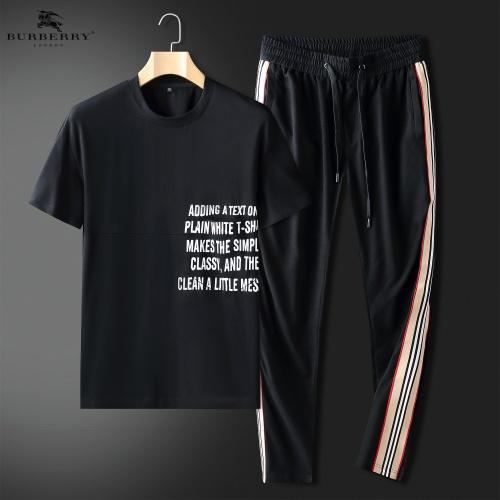 Burberry Tracksuits Short Sleeved For Men #857323