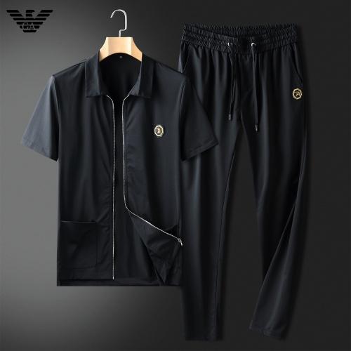 Armani Tracksuits Short Sleeved For Men #857325